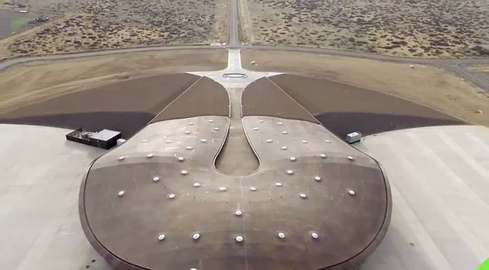 spaceport america featured in 3DR drone commercial