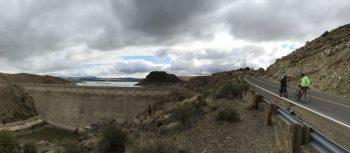 road biking near Elephant Butte Dam