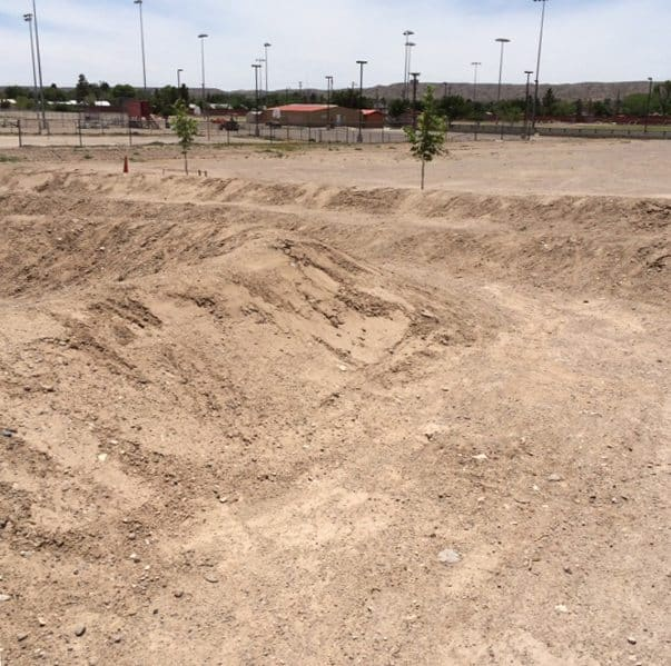 BMX dirt track in Truth or Consequences