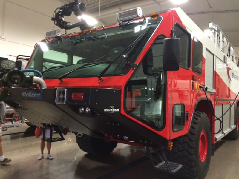 Spaceport America Fire Truck