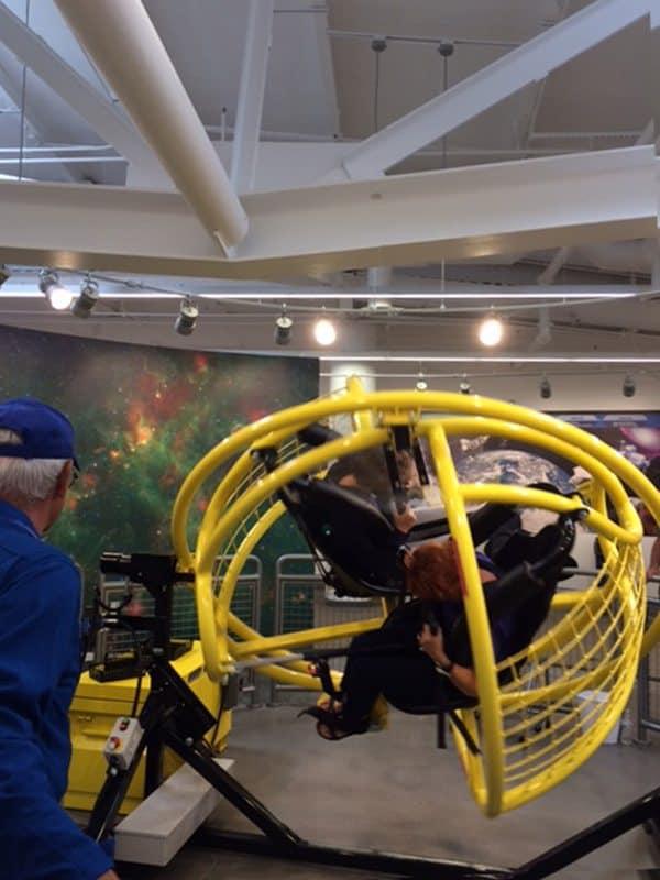 Gforce simulator at Spaceport America