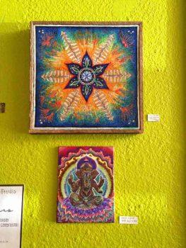 artwork at Grapevine Bistro