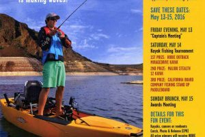 Kayak Fishing Tournament in Elephant Butte NM