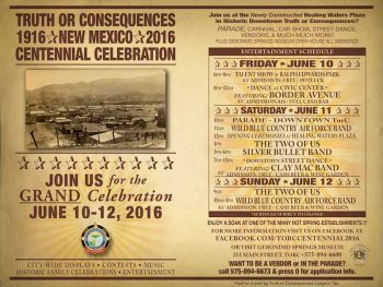 Truth or Consequences Centennial 2016