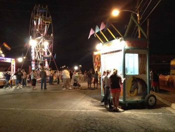carnival at the Fiesta