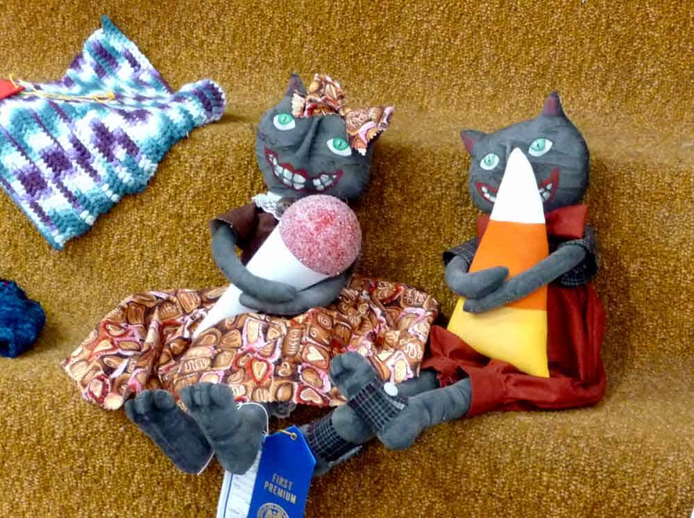 Sugar-loving dolls at the Sierra County Fair