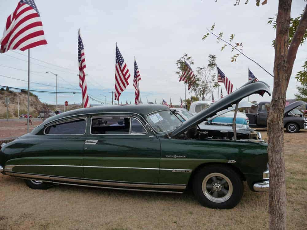 Green Hornet at Veterans Day Car Show in Truth or Consequences NM