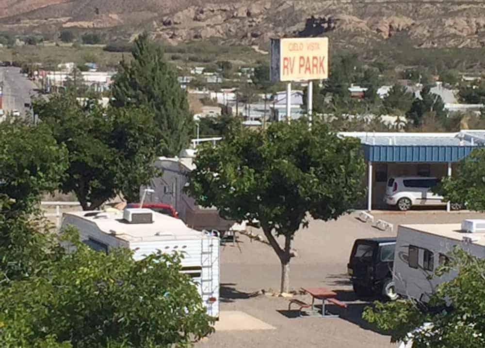 Cielo Vista RV Park, Truth or Consequences NM