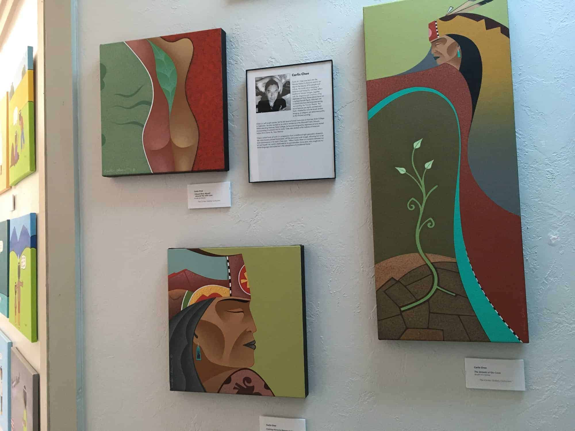 representing living contemporary artists from New Mexico,
