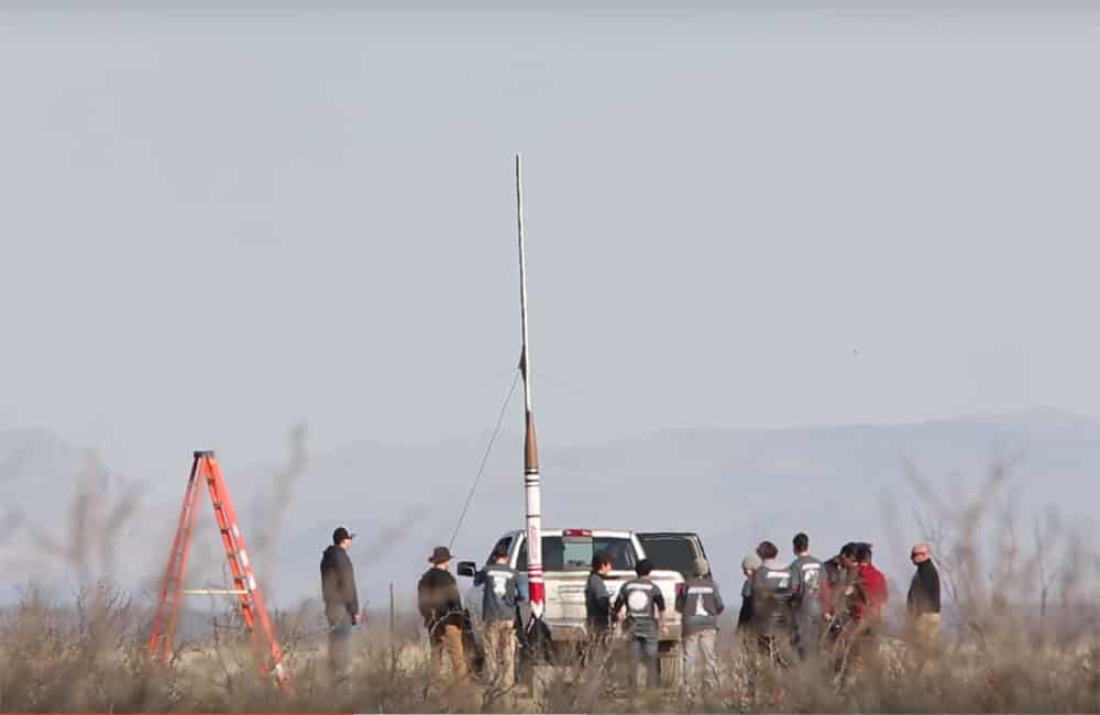 USC Launches Rocket at Spaceport America, sets record
