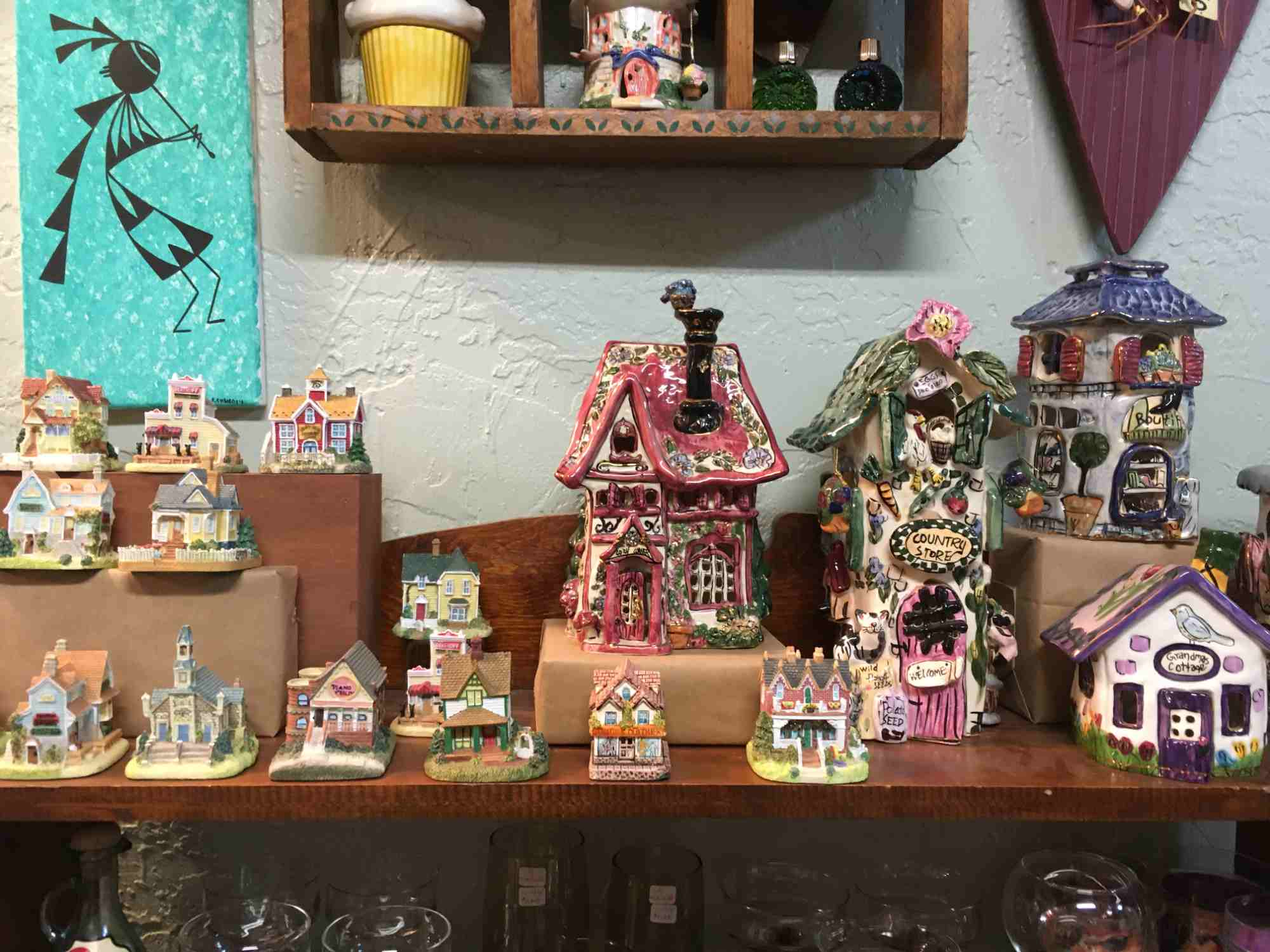 ceramic cottages - A Touch of Yesterday - a collector's paradise