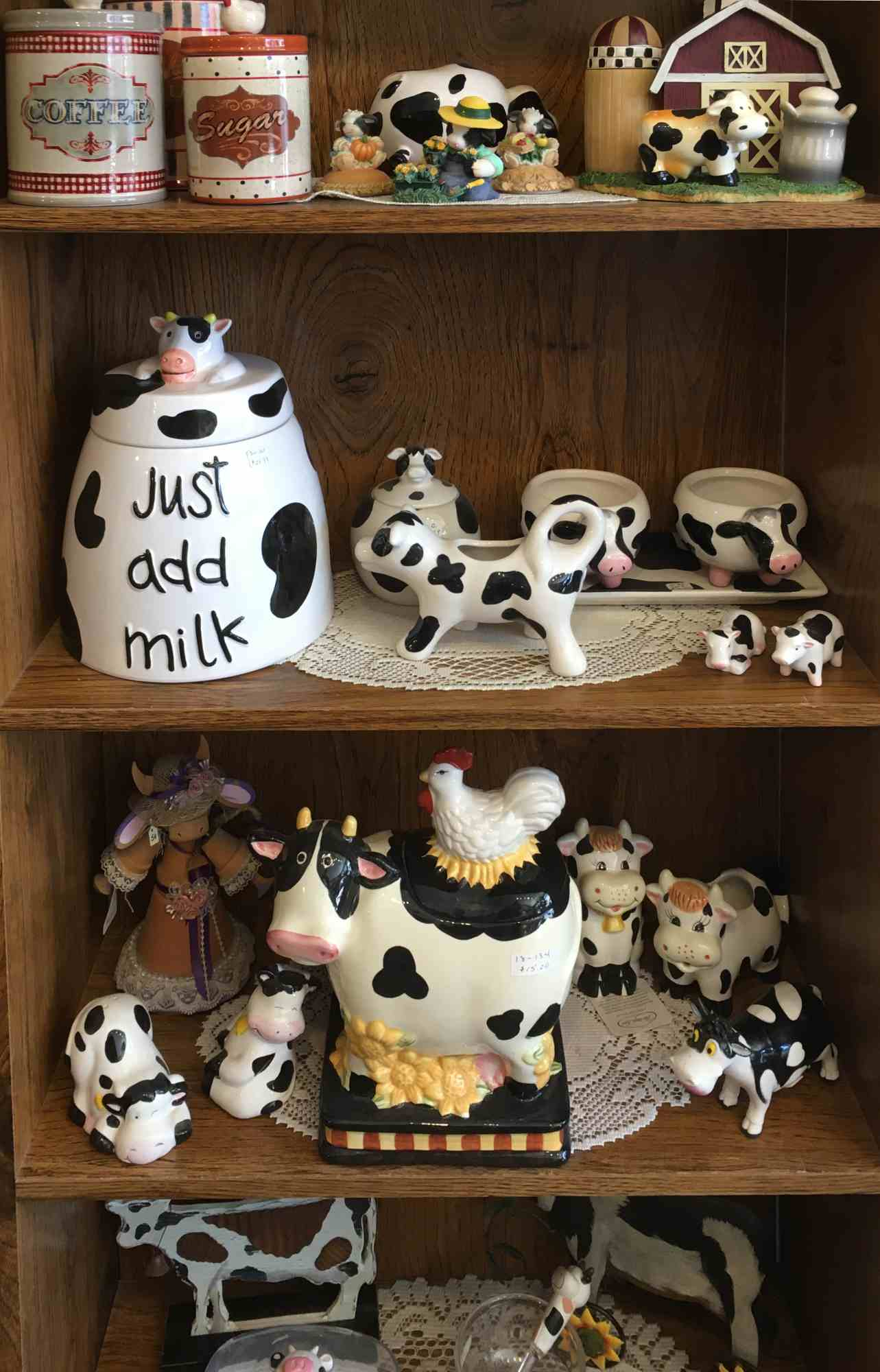 all things cows - A Touch of Yesterday - a collector's paradise