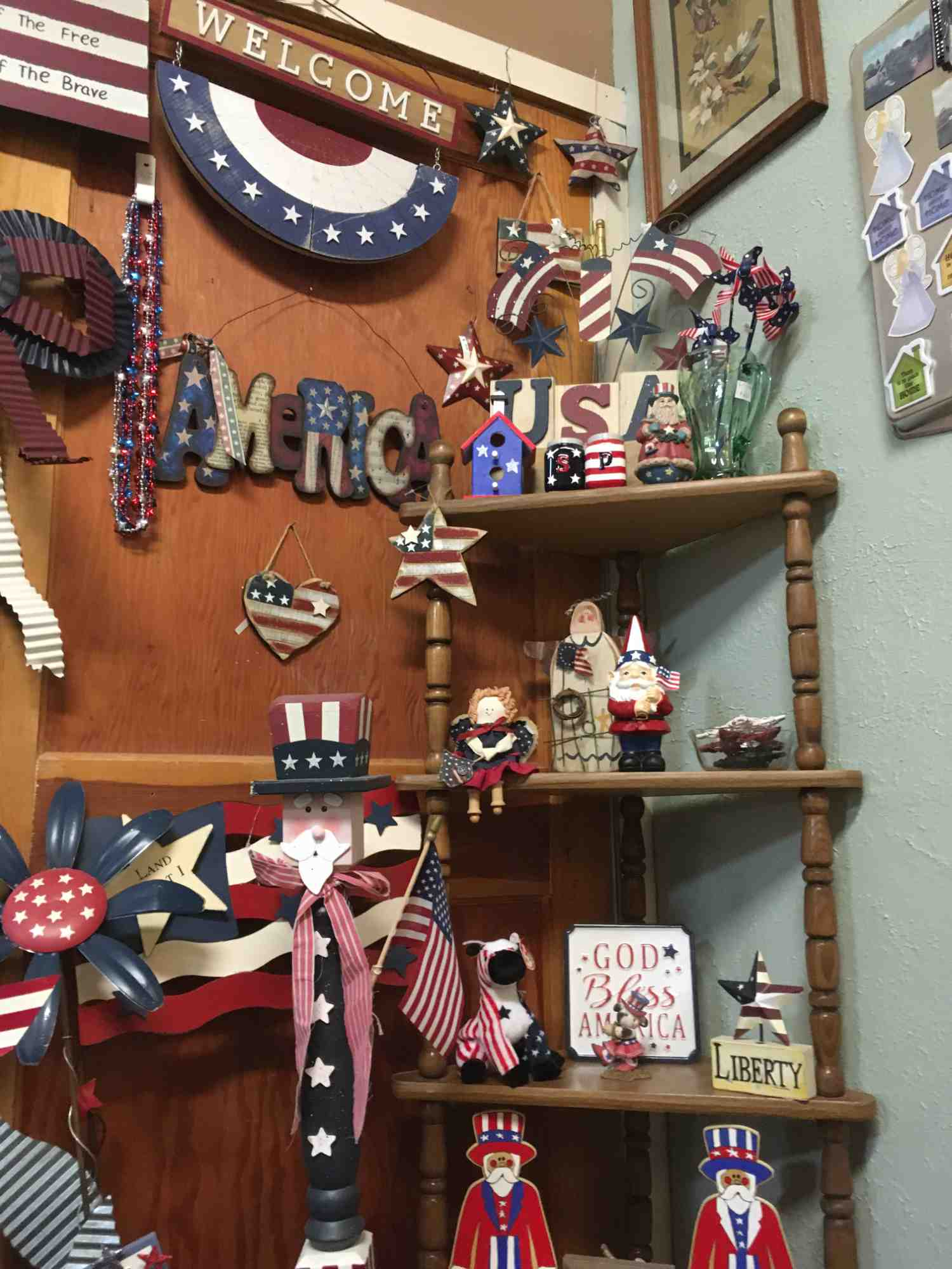patriotic collectibles - A Touch of Yesterday - a collector's paradise