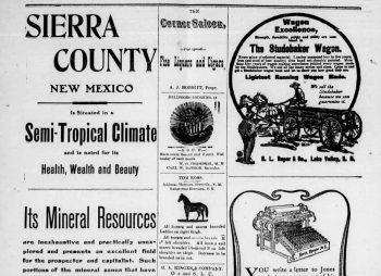 Sierra County Advocate 1907