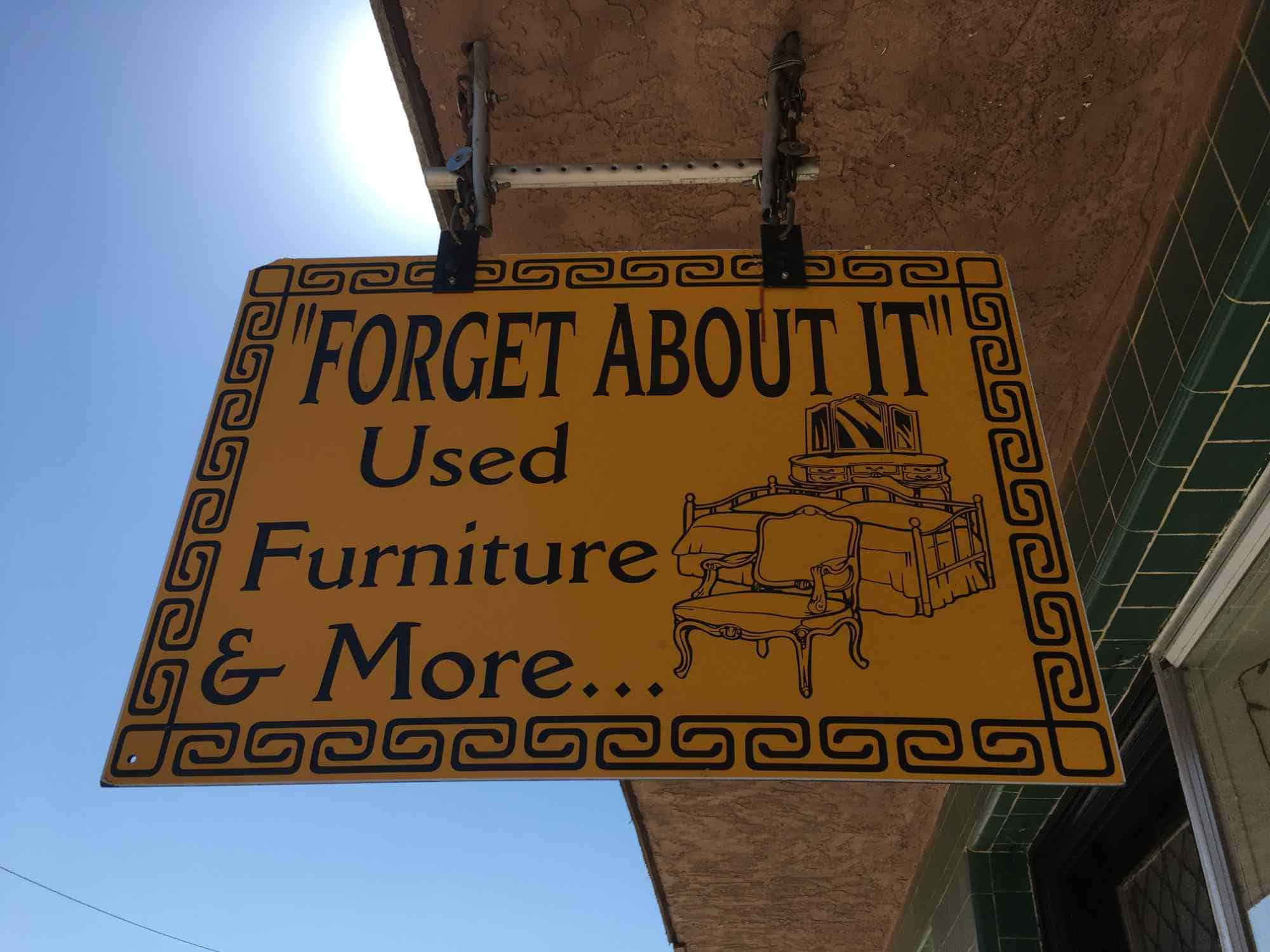 Forget About It Used Furniture & More