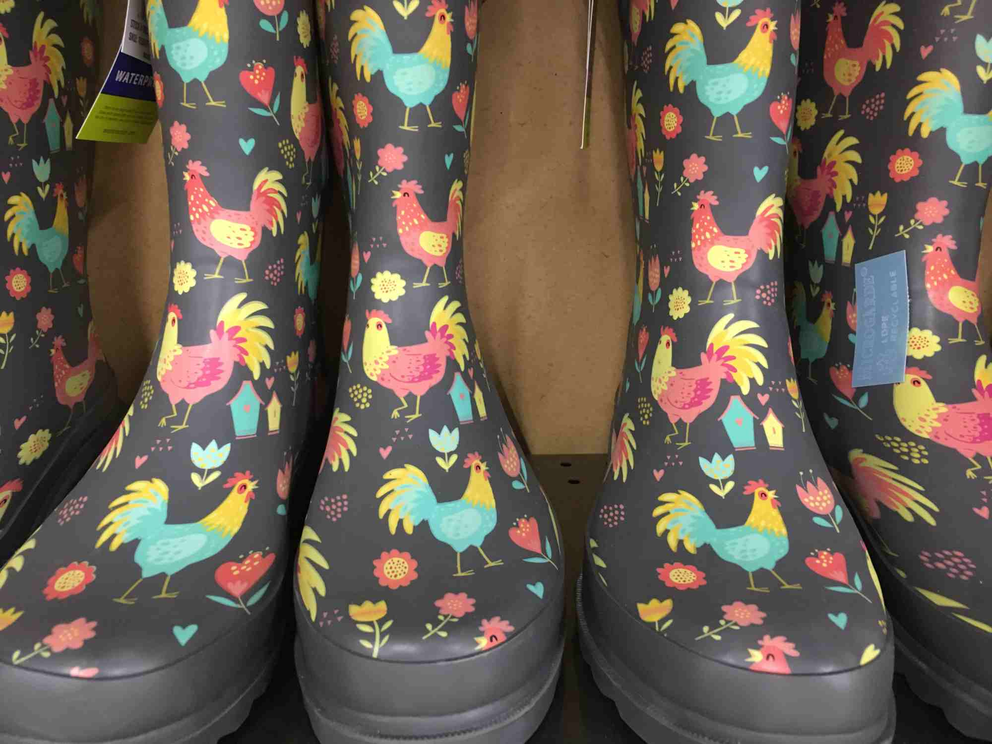 rainboots at Tractor Supply in Truth or Consequences