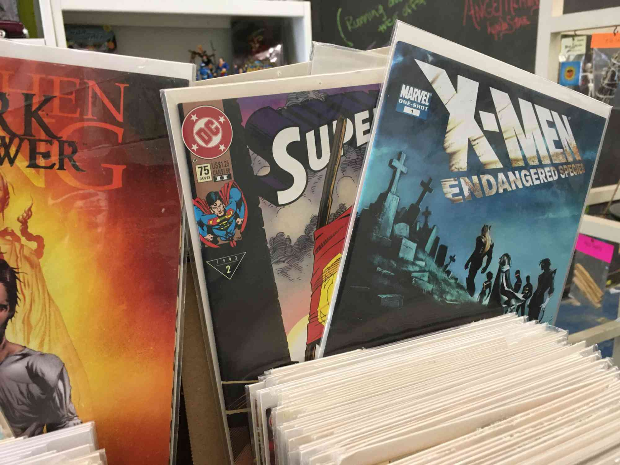 comics at Vic's, downtown Truth or Consequences