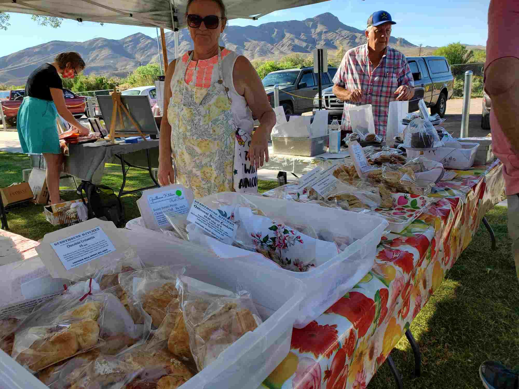 Sierra County Farmers Market baked goods