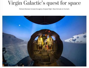 Washington Post writes about Spaceport America