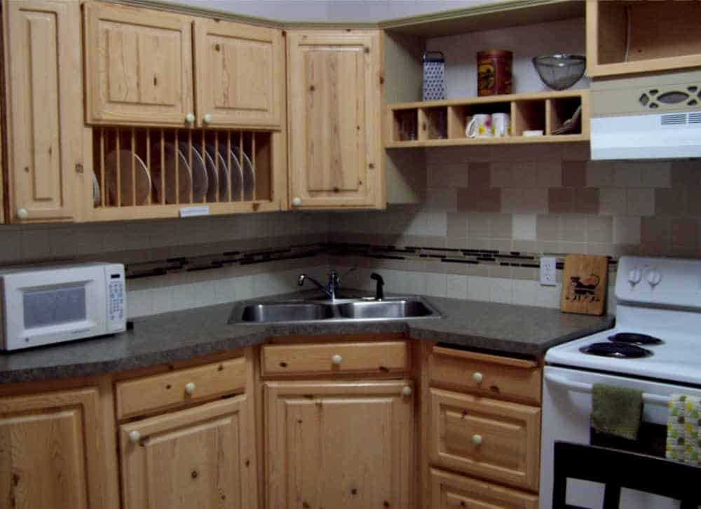 kitchen in the Headquarter Cabin, Chloride