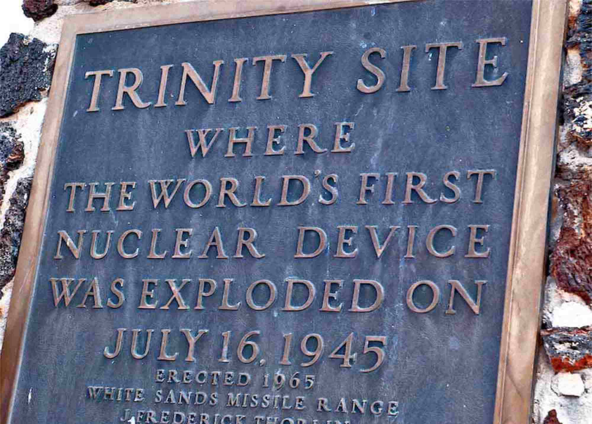 Trinity Site Tour October 5 2019 White Sands Missile Range