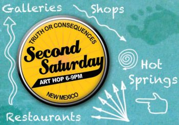 second saturday art hop in downtown truth or consequences