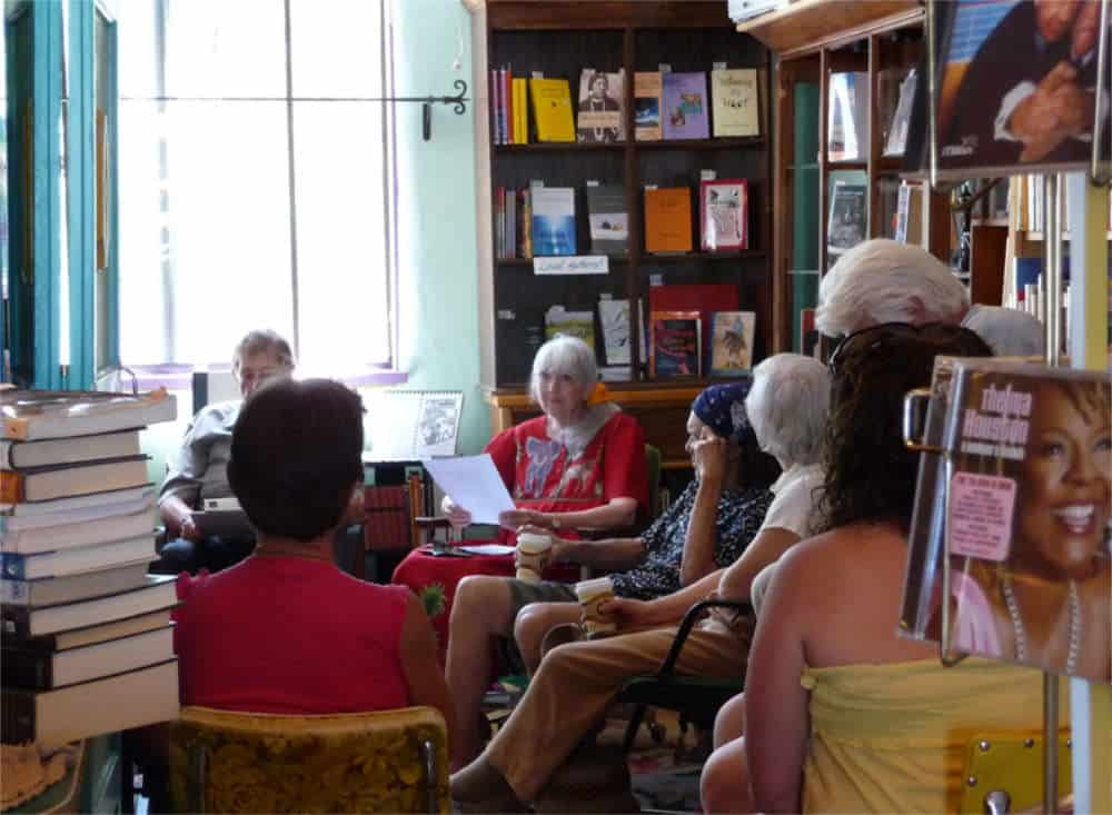 monthly poetry reading at Black Cat Books & Coffee