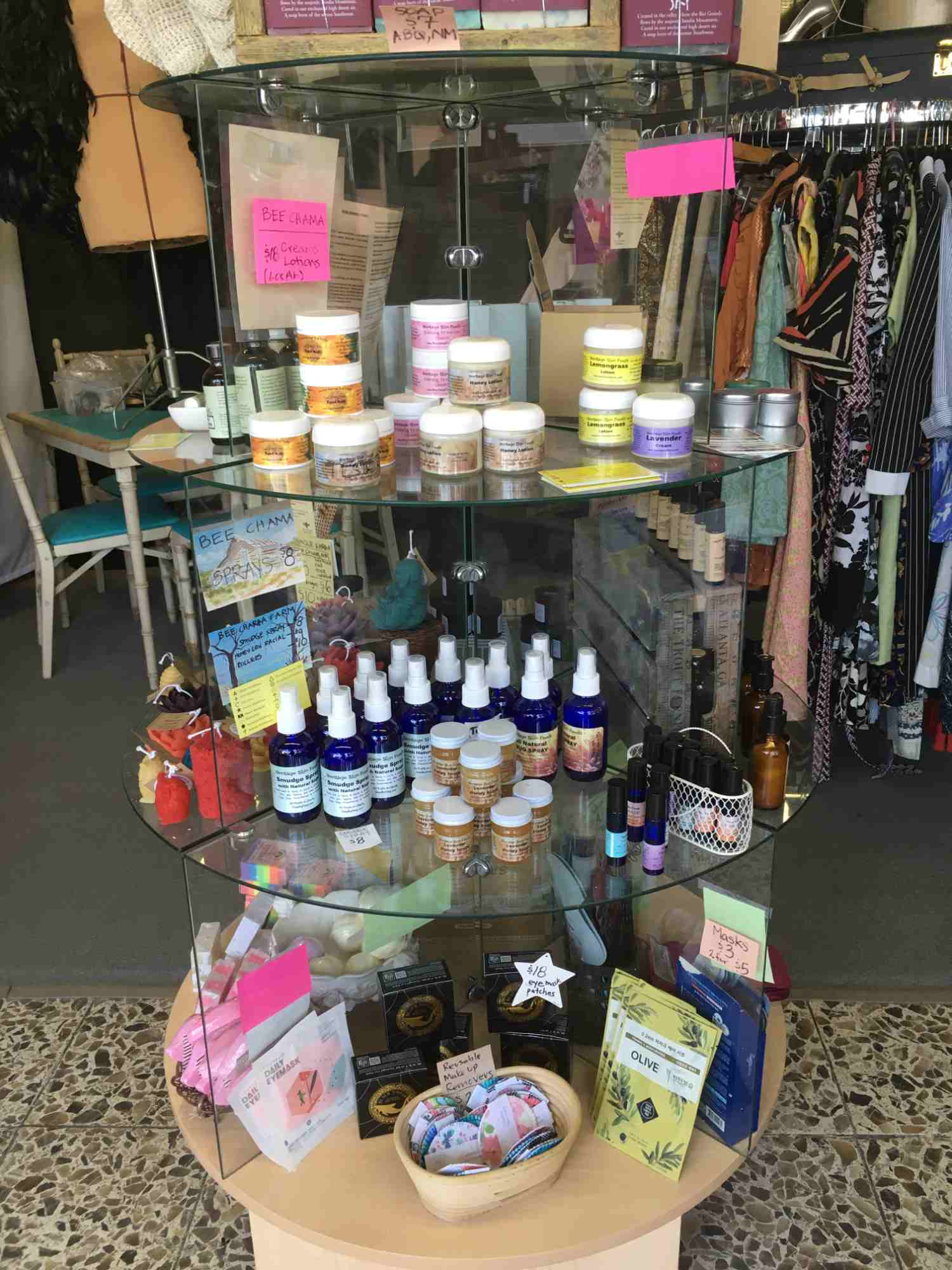 body products at The Annex T or C
