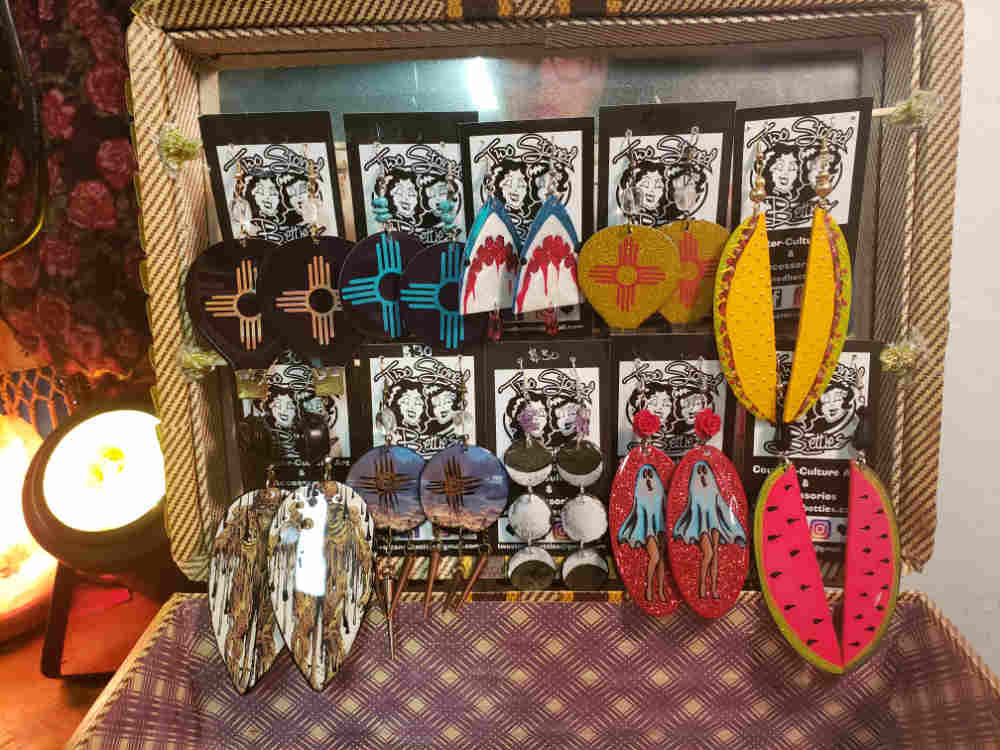 hand made earrings at The Annex T or C