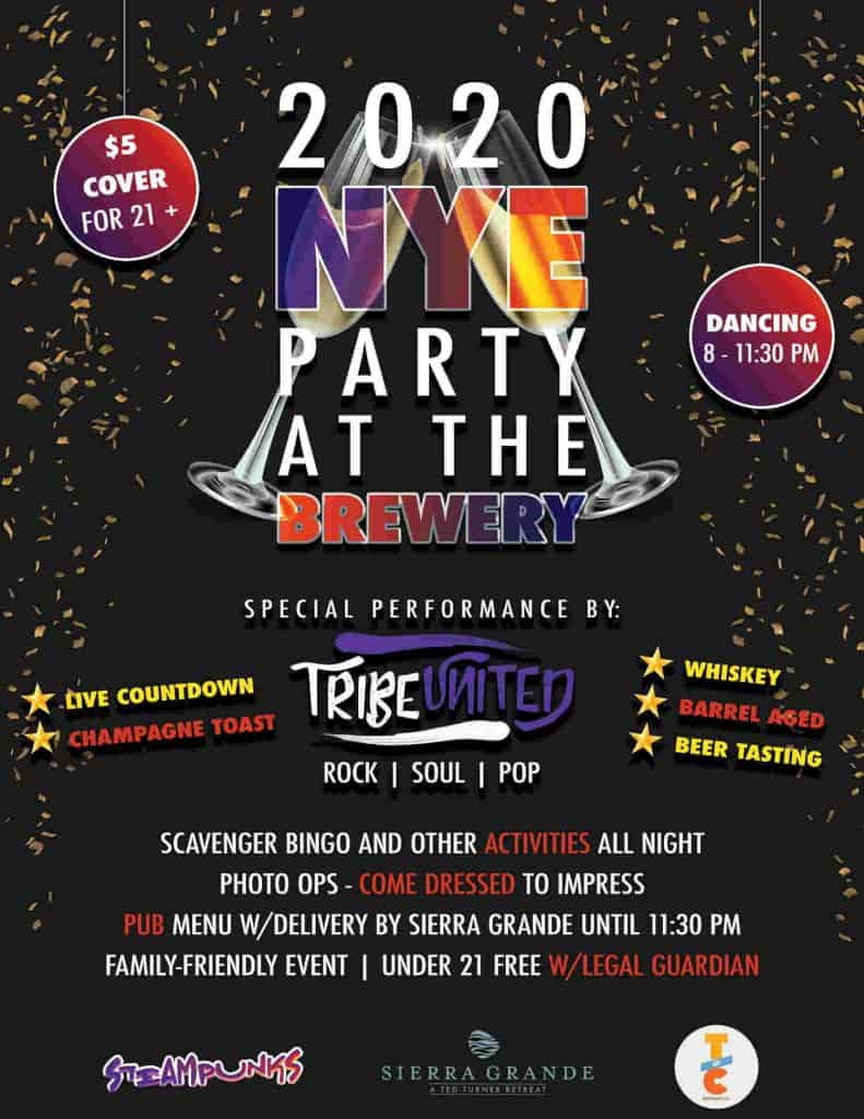 2020 New Year's Eve celebration at torC Brewing