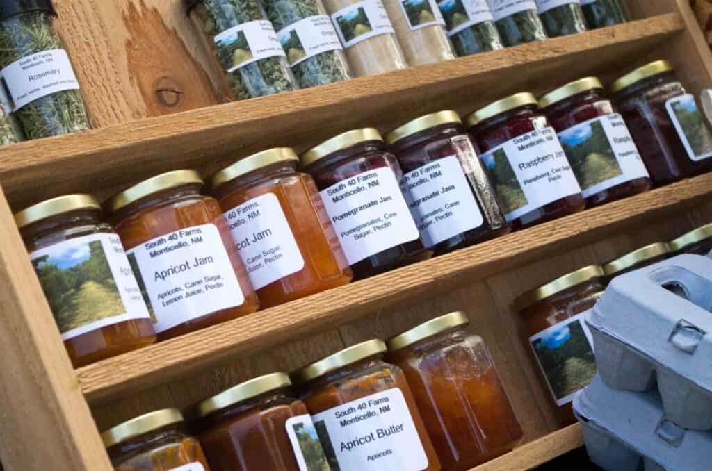 jams from South 40 Farms