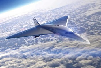 Virgin Galactic high-speed aircraft