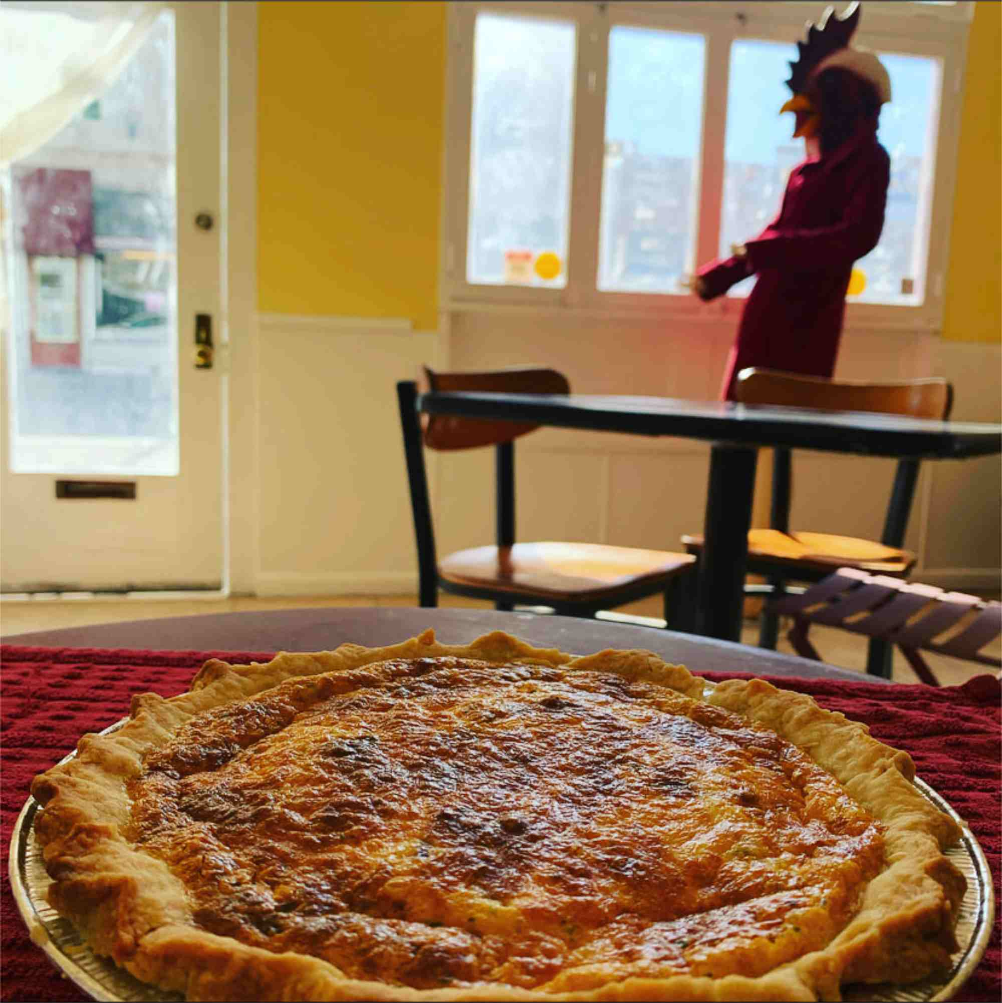 quiche on Sundays from Giddy Up Cafe