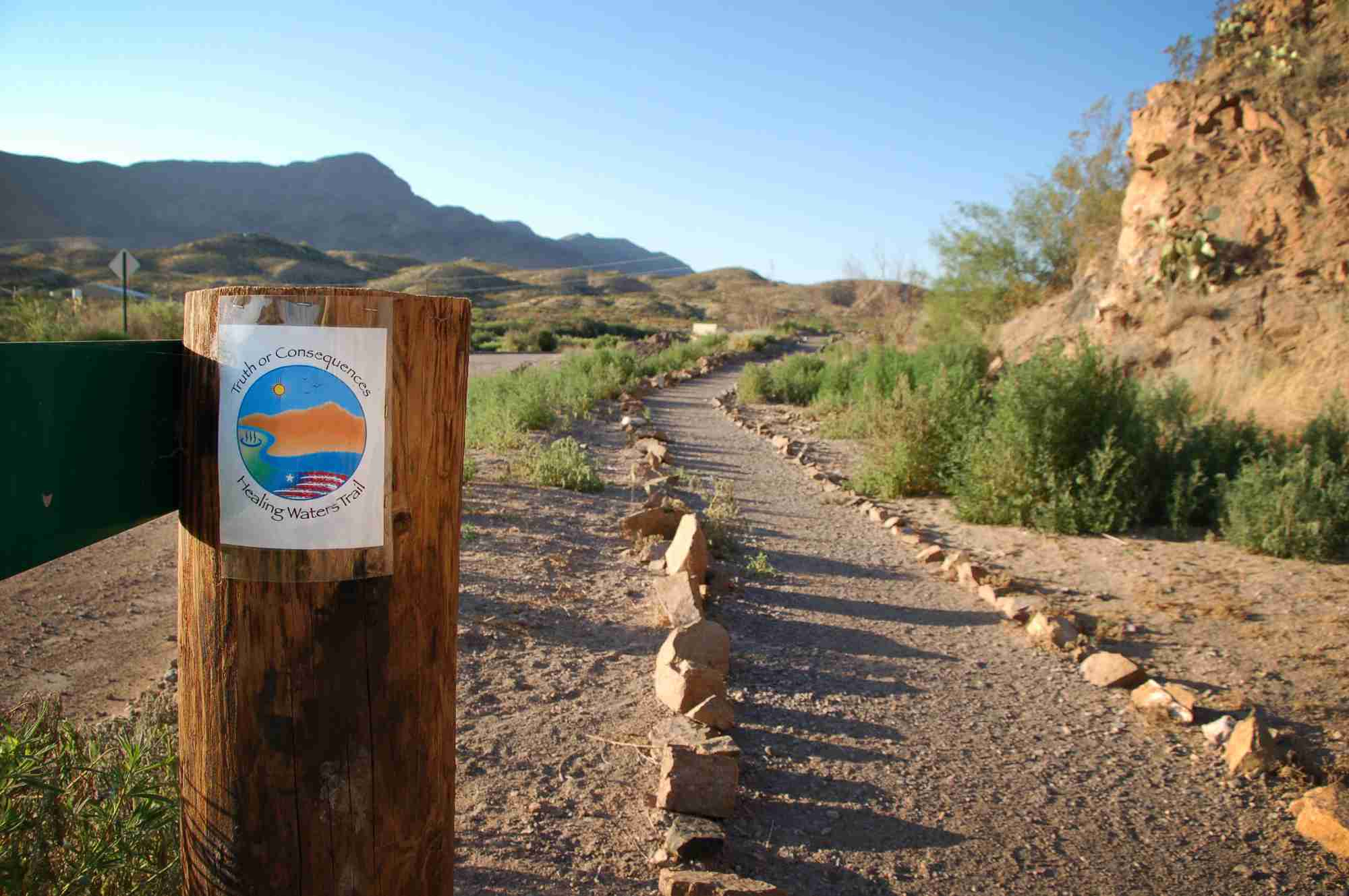 Healing Waters Trail in Truth or Consequences NM