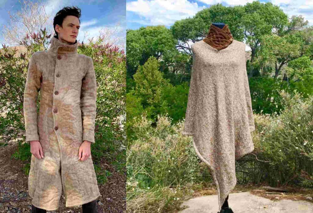 Woollywhotnots hand-knitted all natural garments