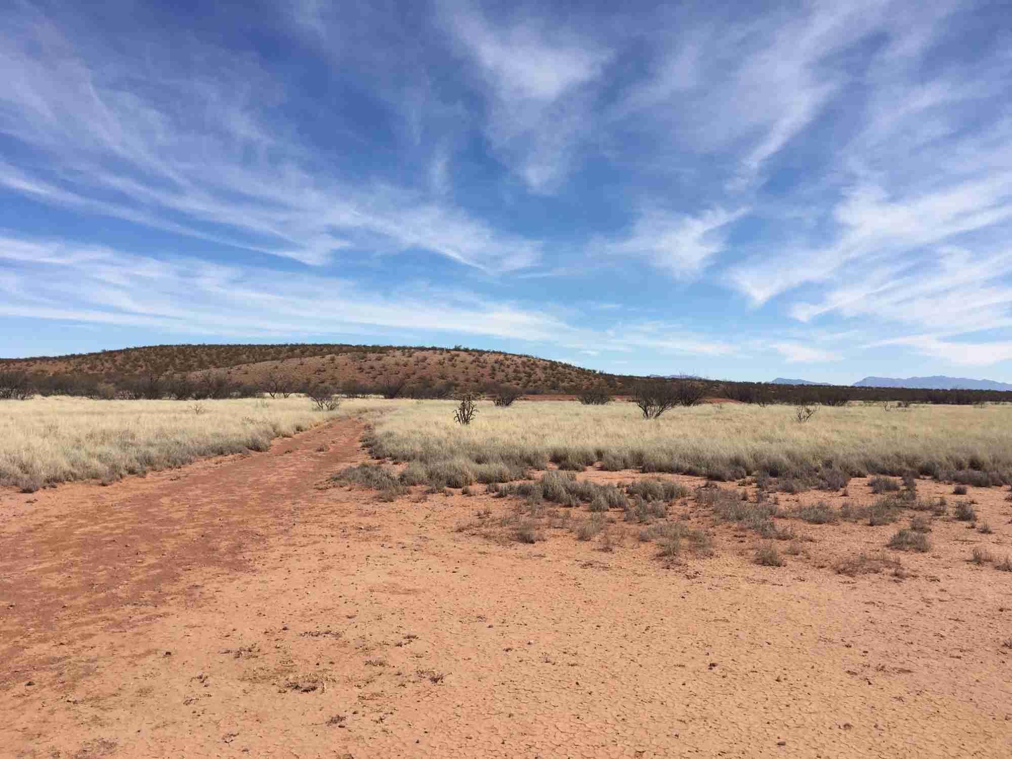 Yost Escarpment Trail in Sierra County New Mexico