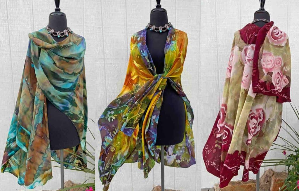 hand dyed silks in truth or consequences nm