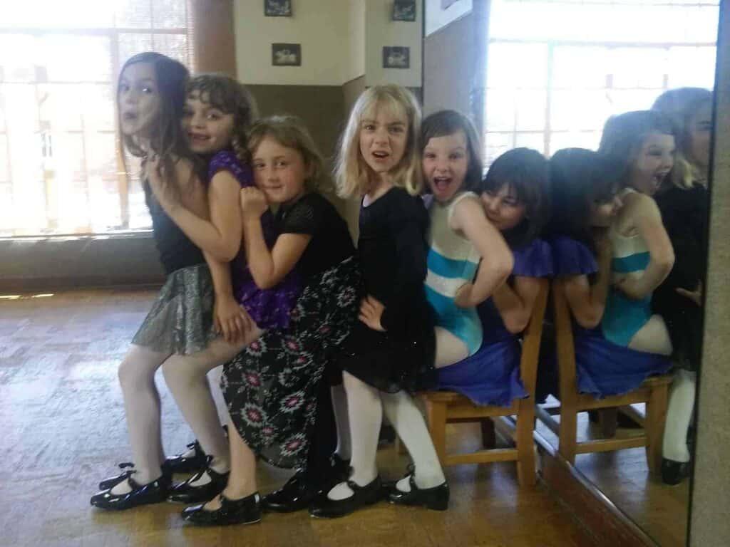 kids dance class at Studio de la Luz