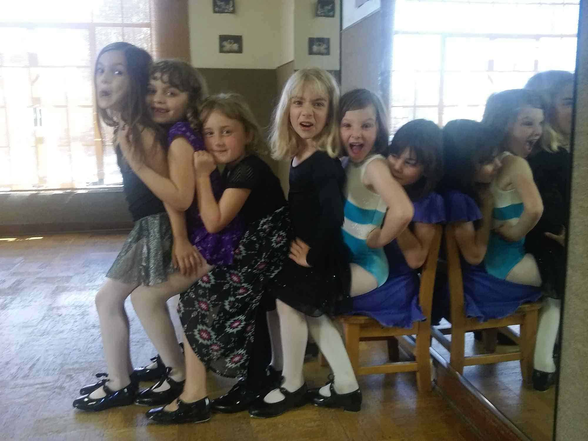 kids dance class taught by Abigail Nace