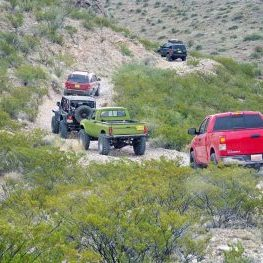 Chile Challenge 4x4 Trail Event, Caballo New Mexico